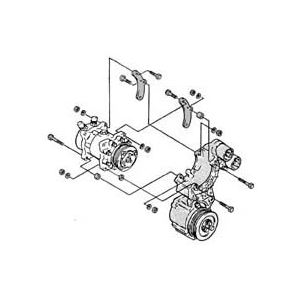 AC Compressor Brackets | Power Steering Brackets