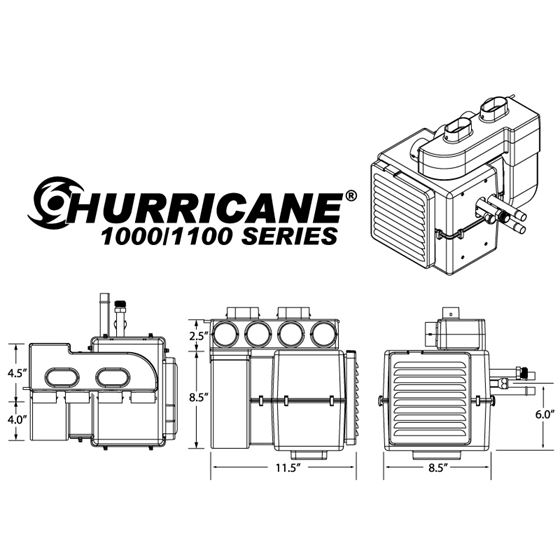 Hurricane 1000 - Complete System -2