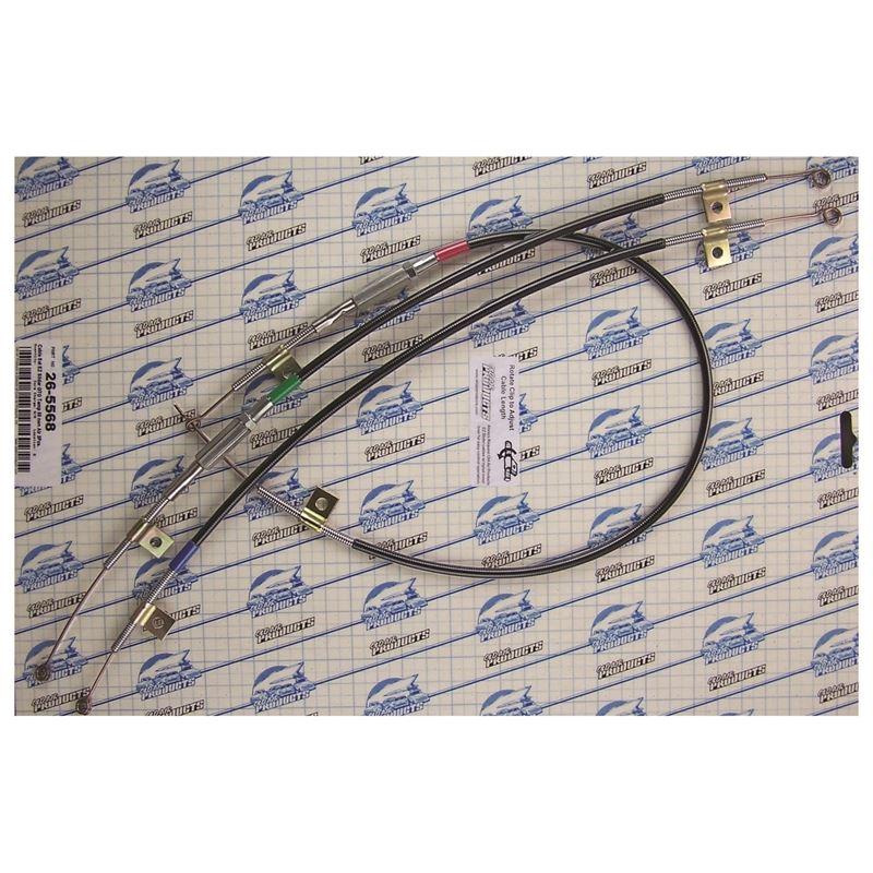 26-5568 - EZ Slider Cable Set | 1968 Pontiac GTO,