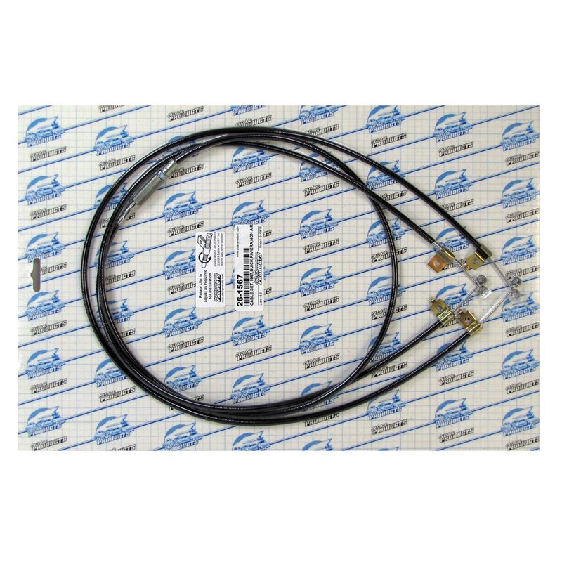 Cable Set Buick, Riviera, non Air / Heater Only, 1