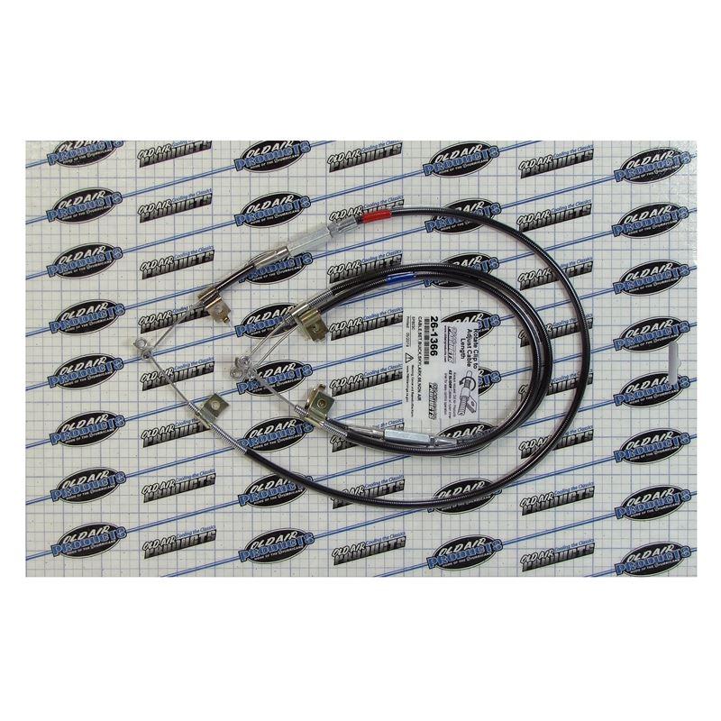 26-1366 - EZ Slider Cable Set | 1966 Buick Skylark