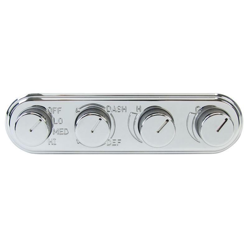 45-0124C - Rotary Control | Indash, Inline, Chrome