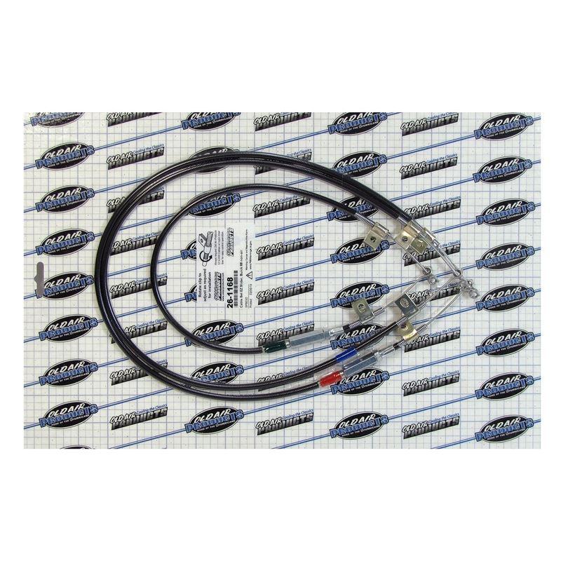 26-1168 - EZ Slider Cable Set | 1966-1968 Buick Fu