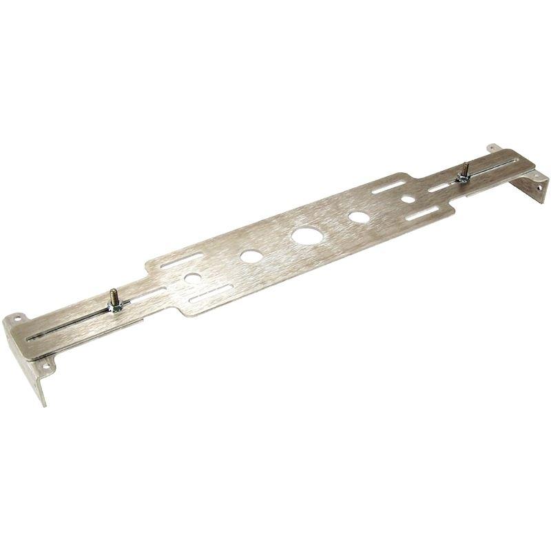 50-0110 - Fan Mount Kit   Brushed Aluminum, Adjust