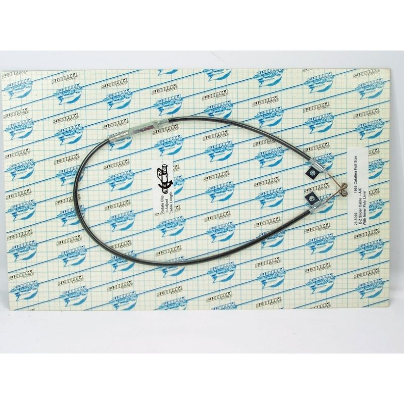 26-5066 - EZ Slider Cable Set | 1966 Pontiac Full