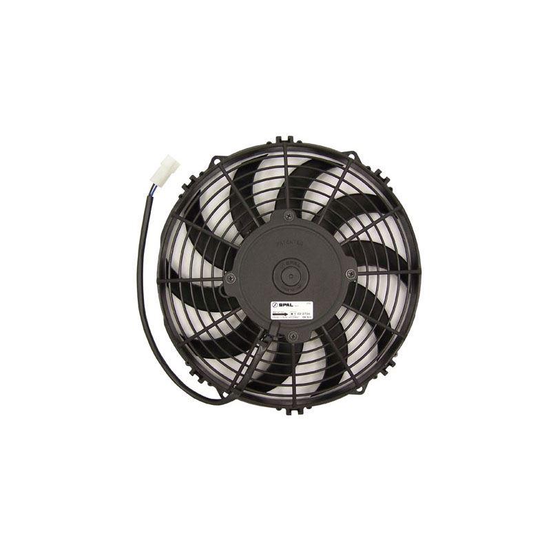 "Spal 30100435 10/"" Curved Blade Puller Fan"