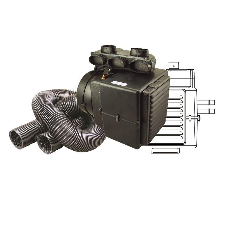 CAP-1100H - Hurricane Heater | Electronic | Upper