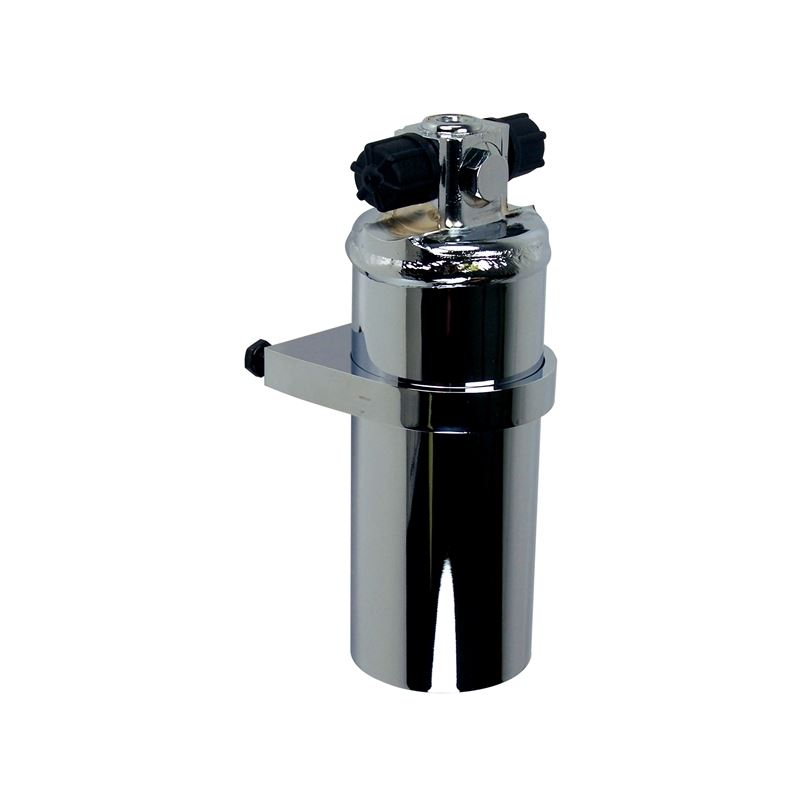 21-323 - Receiver Drier | Chrome with Bracket