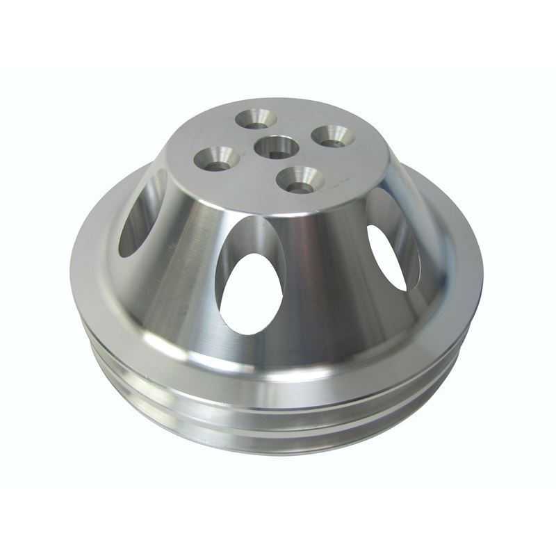 Pulley Aluminum, 2 Groove Water Pump 100-2WPA