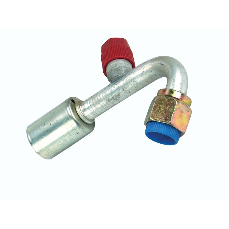 A/C Fitting - Reduced Barrier 120 Degree Female O-