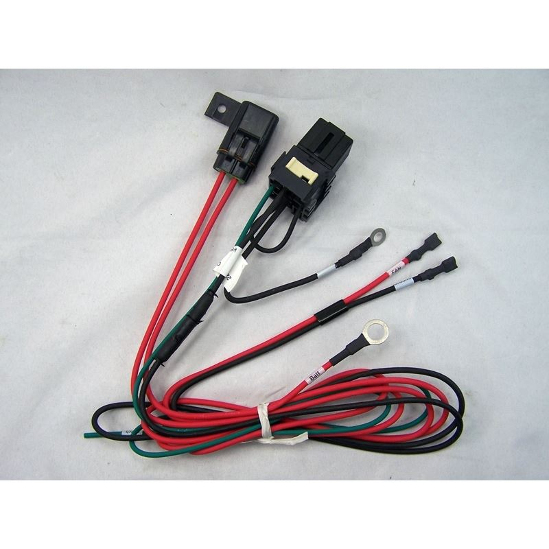 50-0101 - Fan Wire Harness | Relay Protected for C
