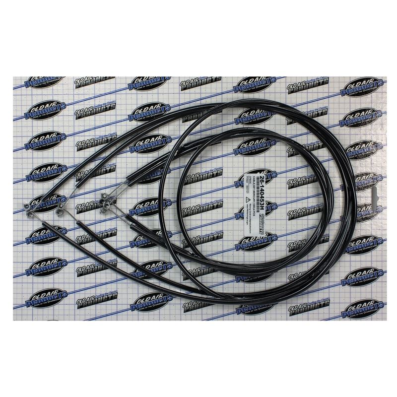 26-140453H - EZ Slider Cable Set - 1953 Mercury