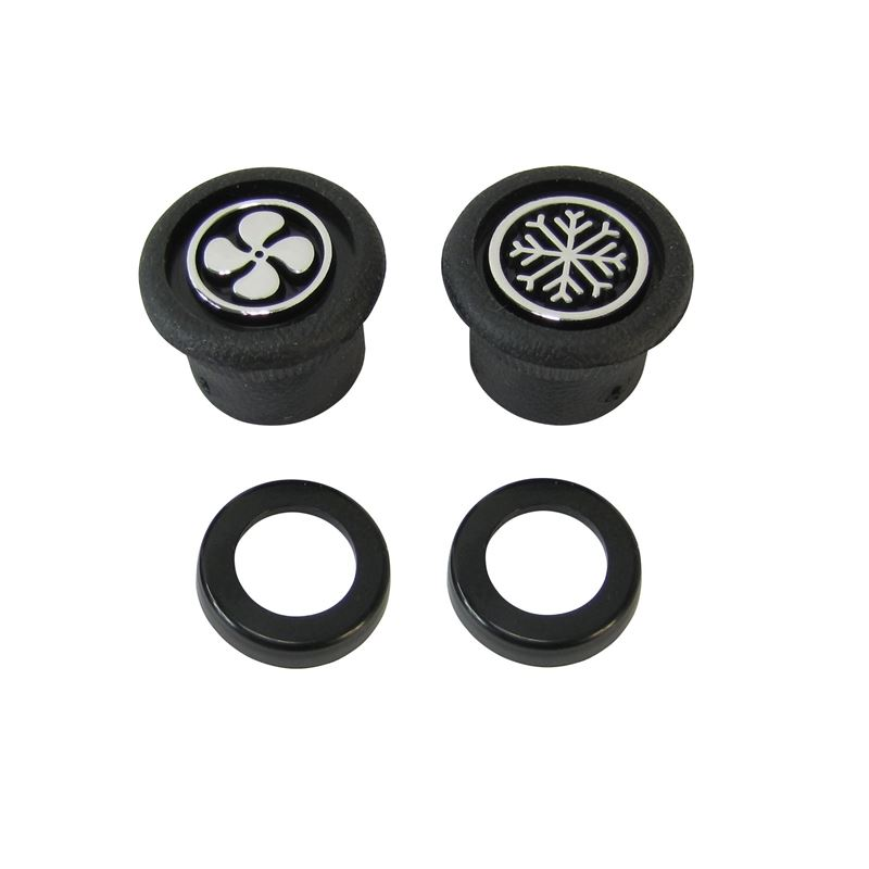 50-0008 - Control Knob Kit | Blower and Thermostat