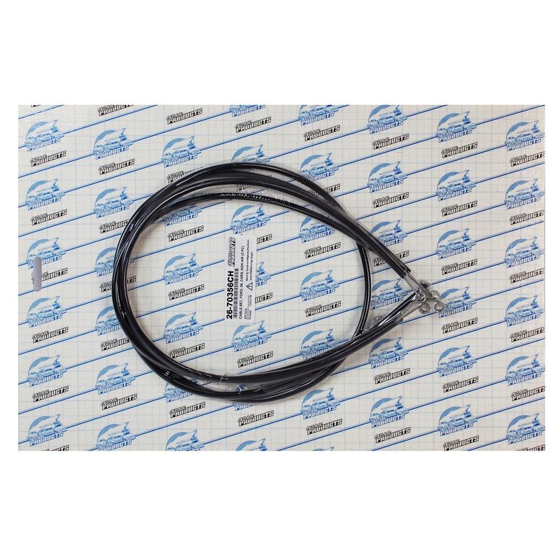 26-70356CH - EZ Slider Cable Set | 1956 Ford Cars,