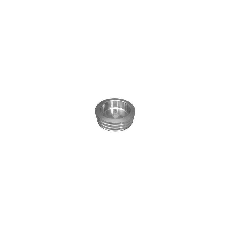 Pulley Aluminum, 3 Groove Crankshaft 100-3CRA