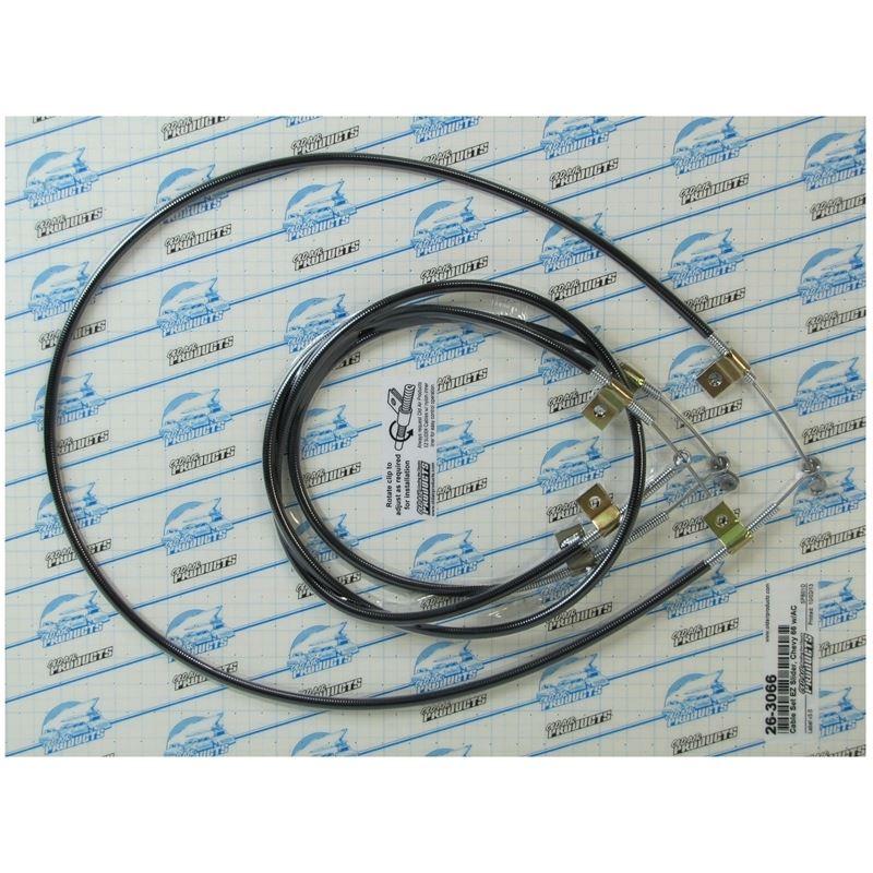 26-3066 - EZ Slider Cable Set   1965-1966 Chevrole