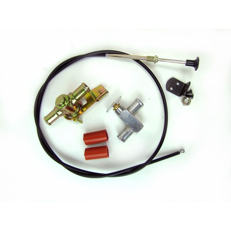 50-1554 - Heater Valve Kit | Universal Fit, Cable