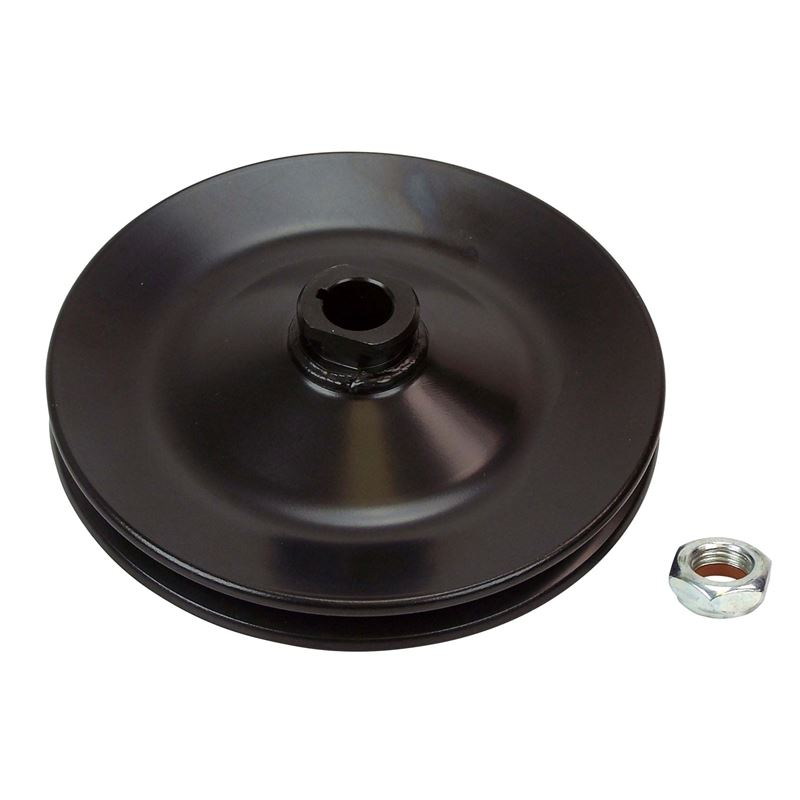 Pulley PS, GM Steel, Bolt-On, 1 Groove 100-1PSB