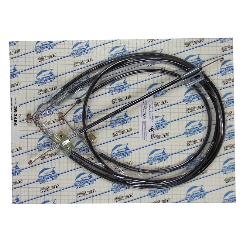 Cable Set Chevrolet, Chevelle, w/ AC, 1964 (4 Pcs)