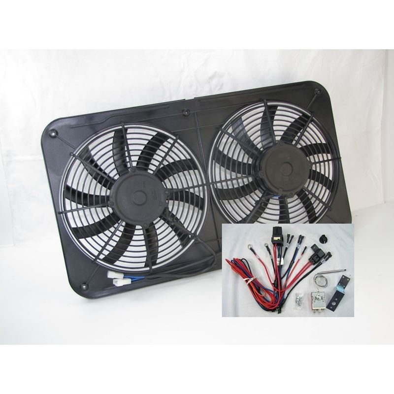 17-1526SH - Dual Fan and Shroud Assembly