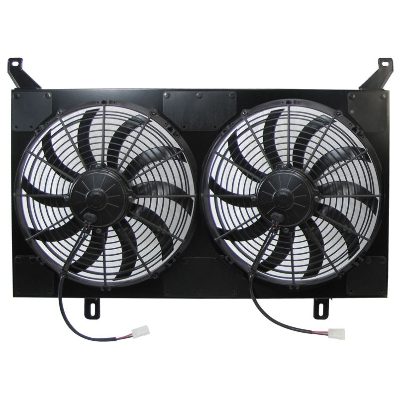 50-7230S - Dual Fan and Shroud Assembly | 1967-72