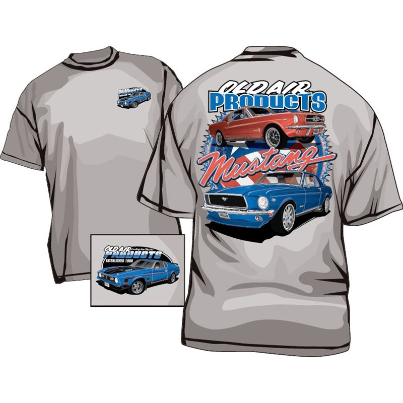 T-Shirt - Old Air Products - MUSTANG