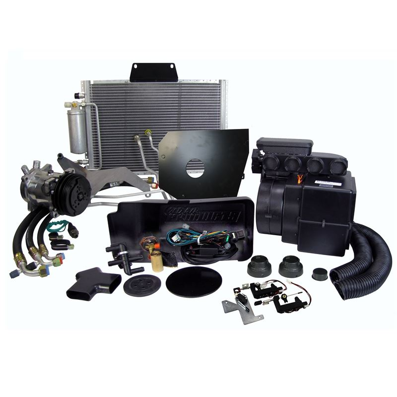 CAP-7217-F - Complete Package | A/C Cab w/ Heater