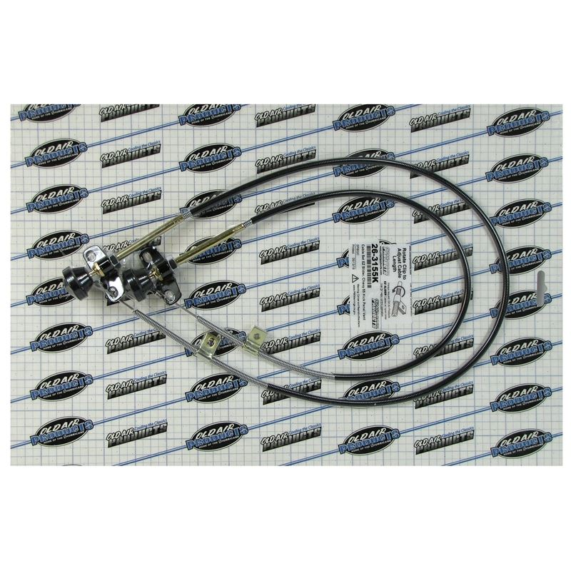 26-3155K - EZ Slider Cable Set | 1955 Chevrolet Fu