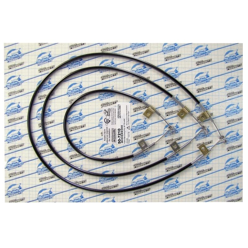 50-7210 - EZ Slider Cable Set | 1967-72 Chevy and
