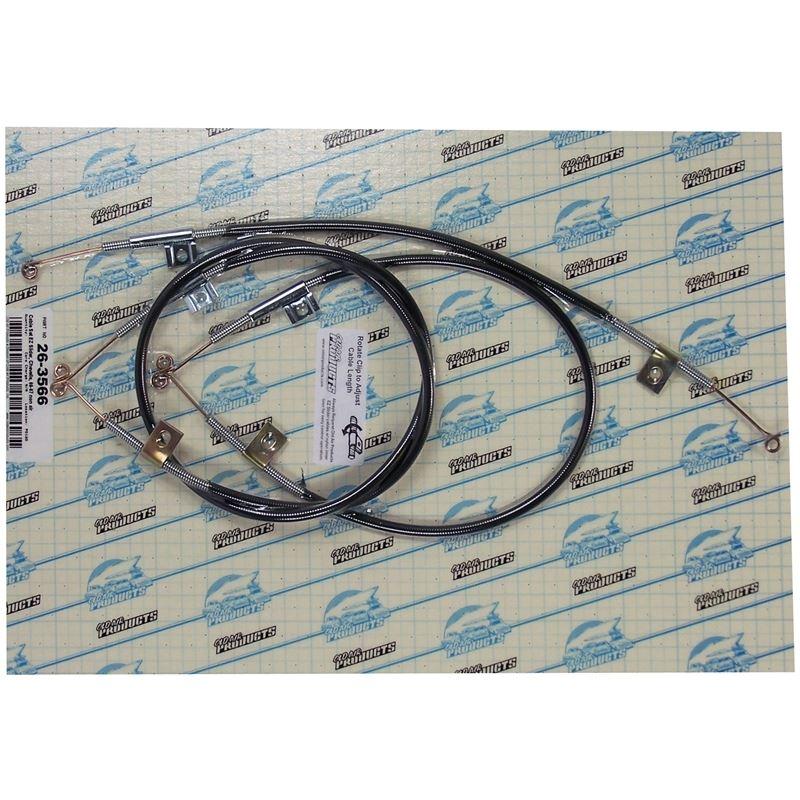 26-3566 - EZ Slider Cable Set | 1966-1967 Chevrole