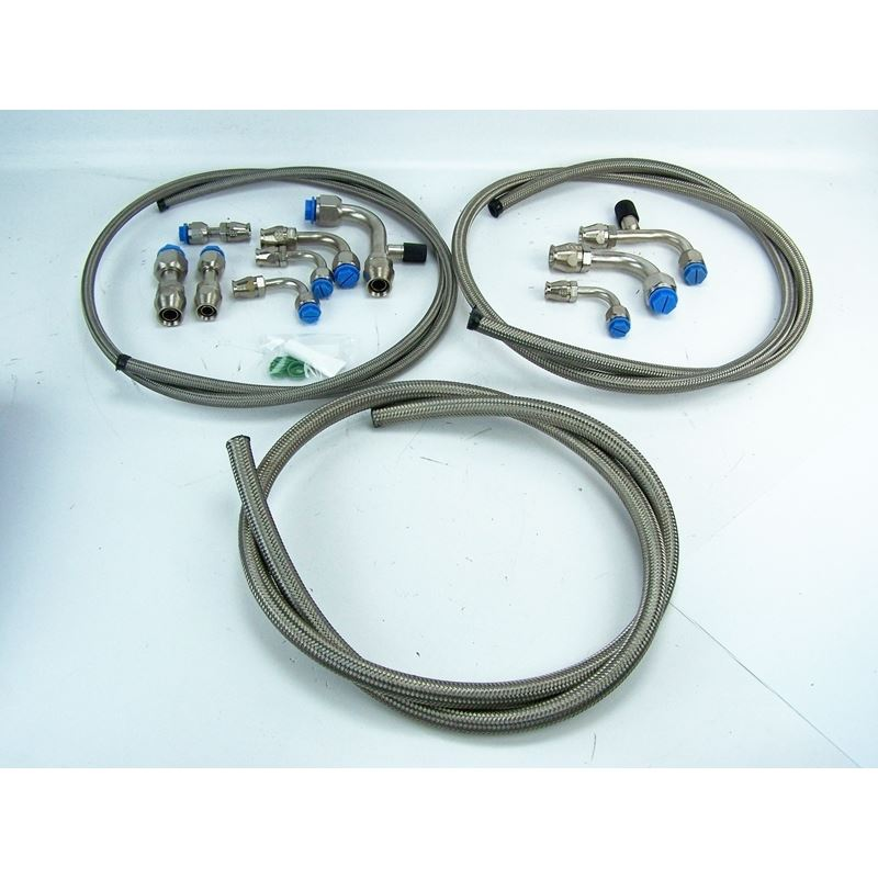 51-1033 - A/C Hose Kit | Braided Stainless Steel